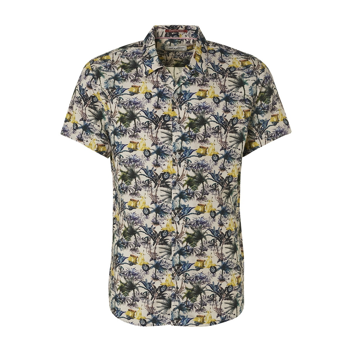 all over printed shirt 95420303 no-excess overhemd 056 lime
