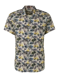 all over printed shirt 95420303 no-excess overhemd 056 lime