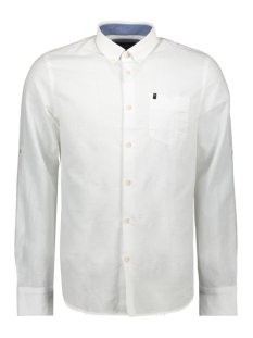 Vanguard Overhemd LONG SLEEVE SHIRT IN 2 TONE COTON LINEN VSI203252 7003