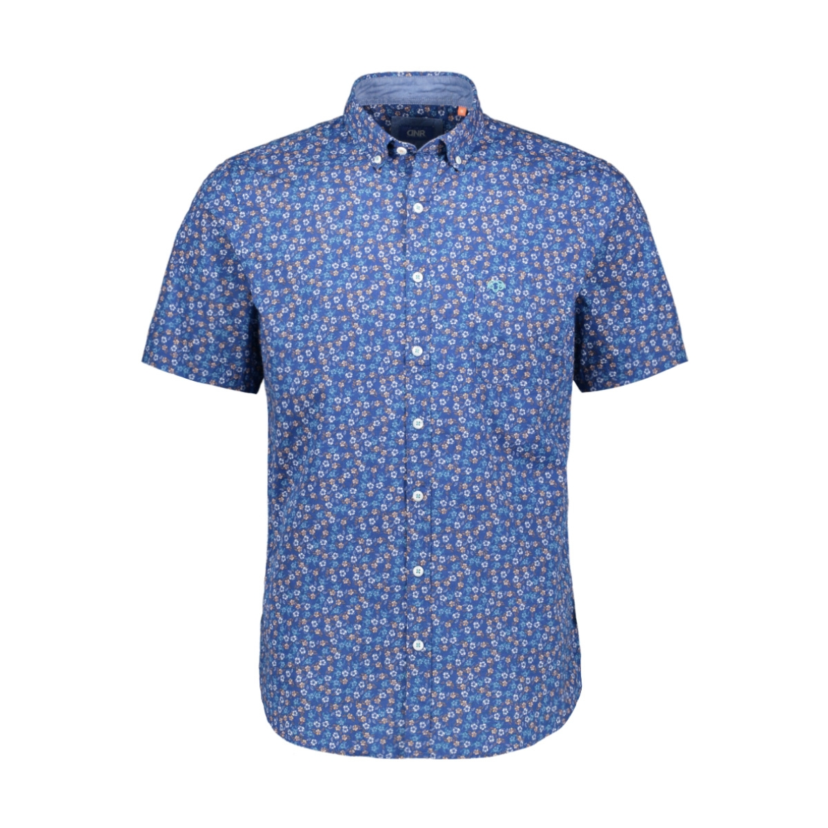 bloem overhemd 39008 2363 dnr overhemd 79 blauw combi