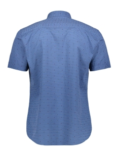 bedrukt overhemd 39024 2065 dnr overhemd 2354 blauw combi