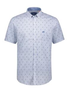 DNR Overhemd BEDRUKT OVERHEMD 39007 2363 79 BLAUW COMBI