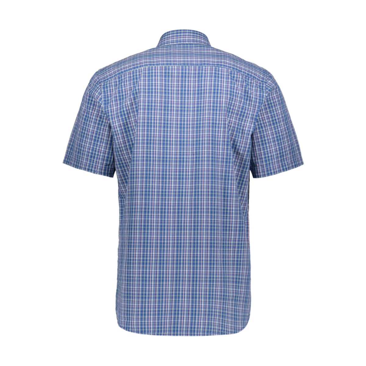geruit overhemd 39009 3202 dnr overhemd 79 blauw combi