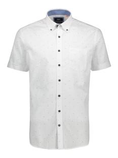 bedrukt overhemd 39023 2074 dnr overhemd 4033 wit