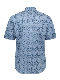classic casual overhemd km  052891 campbell overhemd 388 donkerblauw print