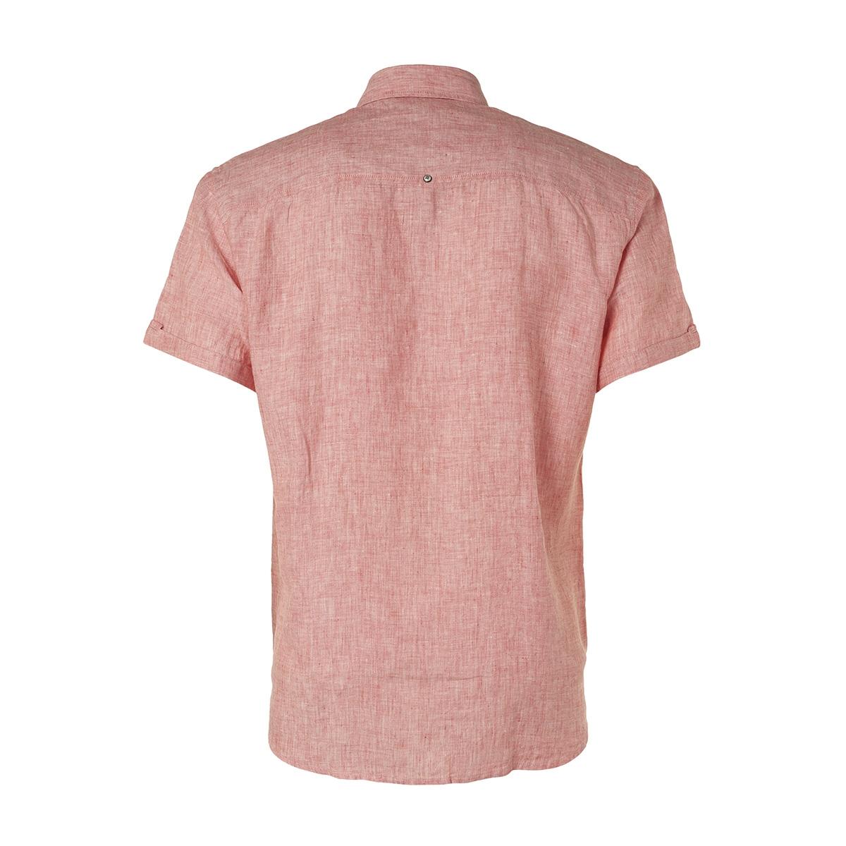 linen sleeve shirt 95460307 no-excess overhemd 172 peach