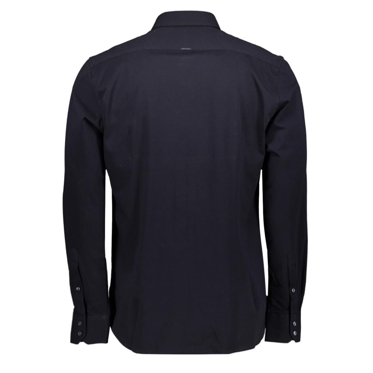shirt mmsl00611 antony morato overhemd 7073 blue ink