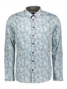 NO-EXCESS Overhemd ALL OVER PRINTED LONG SLEEVE SHIRT 97430702SN 078 NIGHT