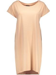 vihonesty s/s tunic 14035729 vila tuniek pink sand