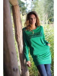 inspired tunic zoso tuniek green/black