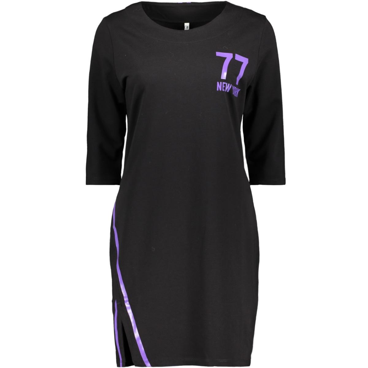 new york sporty tunic zoso tuniek black/purple