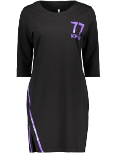 Zoso Tuniek NEW YORK SPORTY TUNIC BLACK/PURPLE