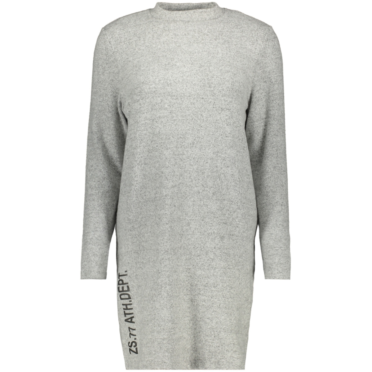 logan 2 soft touch tunic zoso tuniek grey melange