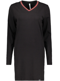 Zoso T-shirt SPORTY PRINTED LONG SHIRT BLACK/RED