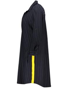 pinstripe tunic zoso tuniek navy/yellow