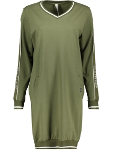 Zoso Jurk SWEAT TUNIC SR1912 ARMY/OFFWHITE