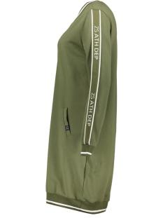sweat tunic sr1912 zoso jurk army/offwhite