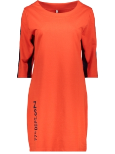 Zoso Jurk SPORTY TUNIC  SR1925 ORANGE RED/NAVY