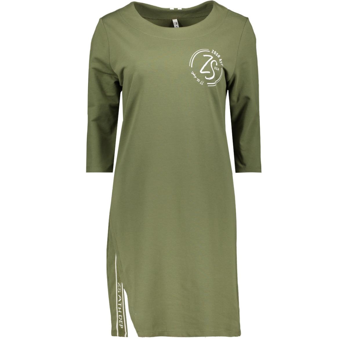 sweat tunic sr1920 zoso tuniek army/offwhite