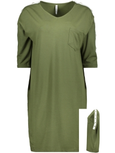 Zoso Jurk SPORTY TUNIC WITH BUTTONS HR1921 ARMY/OFFWHITE