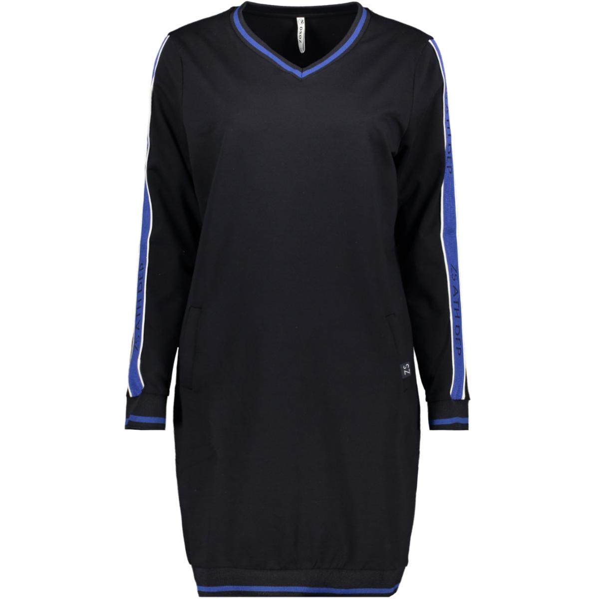 sweat tunic sr1912 zoso jurk navy/cobalt