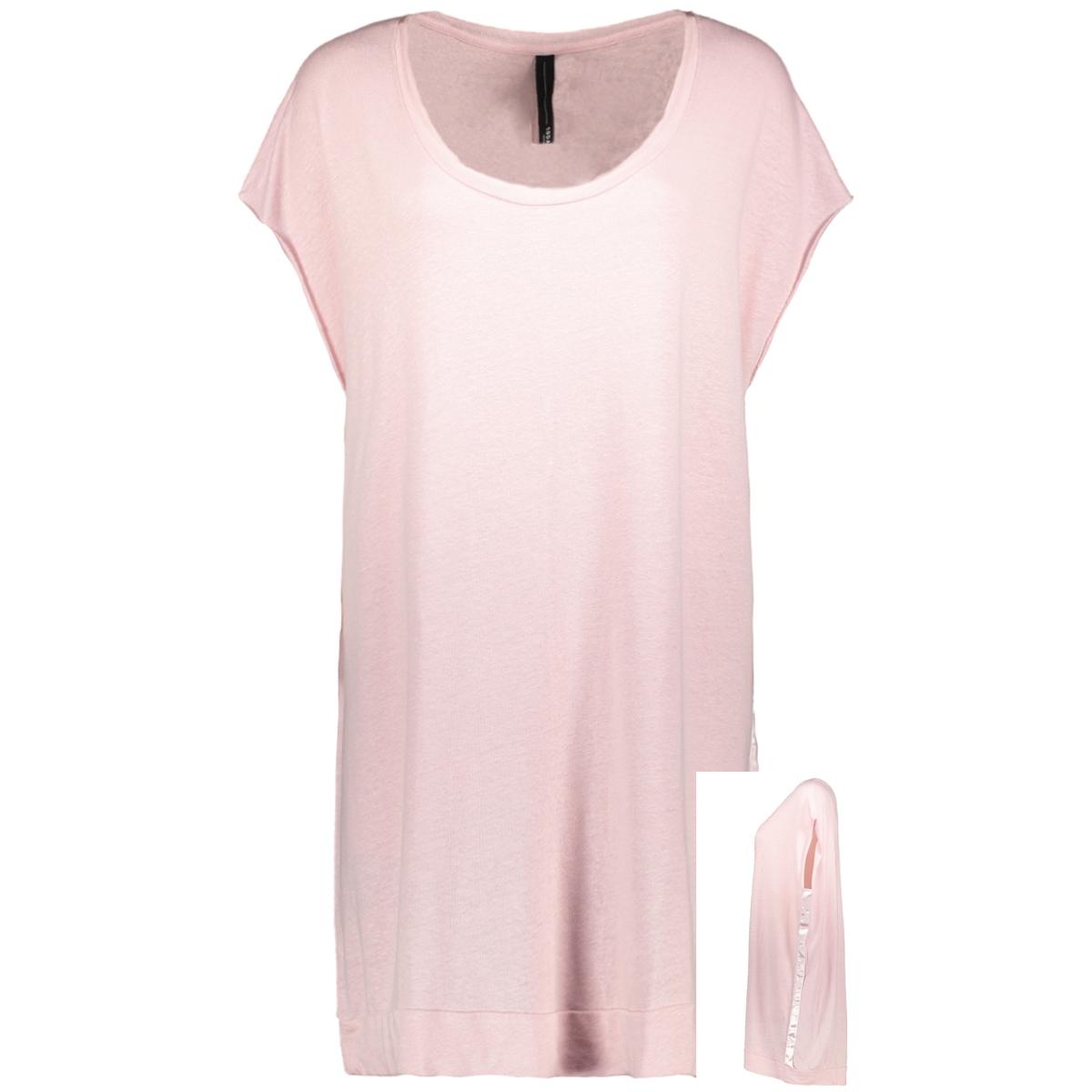tunic linen 20 354 0205 10 days tuniek soft dirty pink