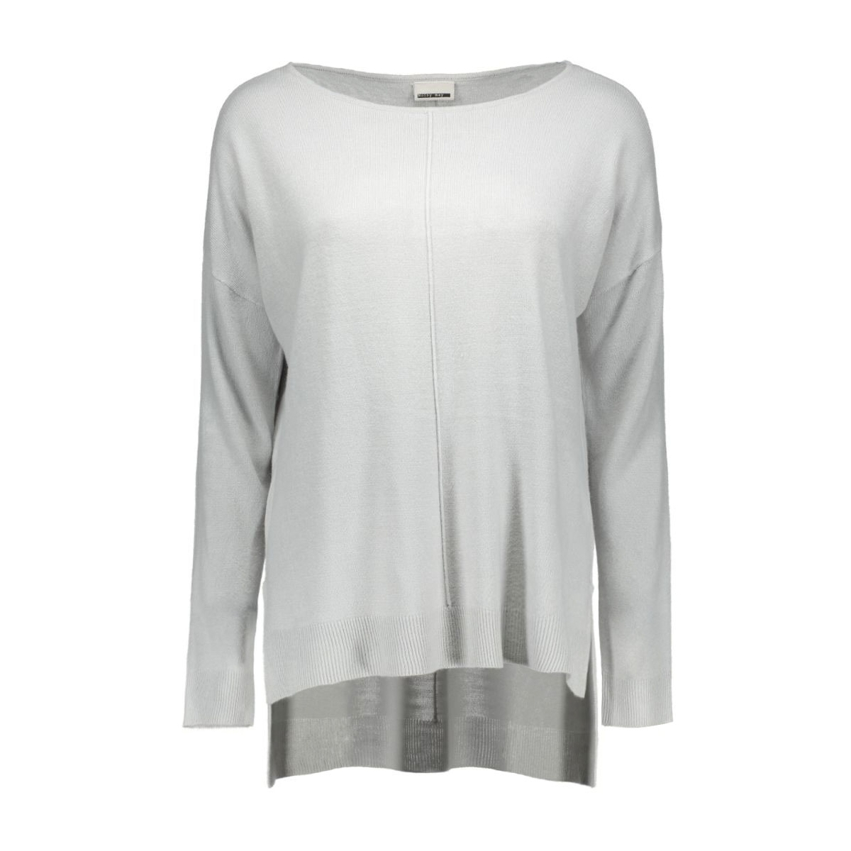 nmchen l/s boatneck knit top - n 10160941 noisy may trui high-rise