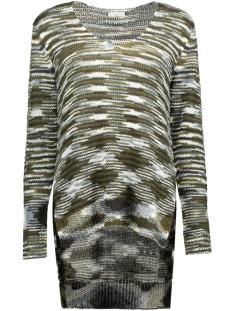 jdywow l/s high low long pullover k 15120362 jacqueline de yong trui black/mixed w da