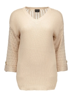 VIVERA KNIT TOP PB 14035487 Shifting Sand/With Gold