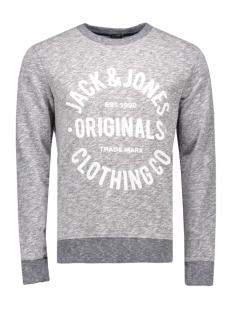jorclemens sweat crew neck noos 12112149 jack & jones sweater navy blazer
