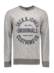 Jack & Jones Sweater JORCLEMENS SWEAT CREW NECK NOOS 12112149 Light Grey Melange
