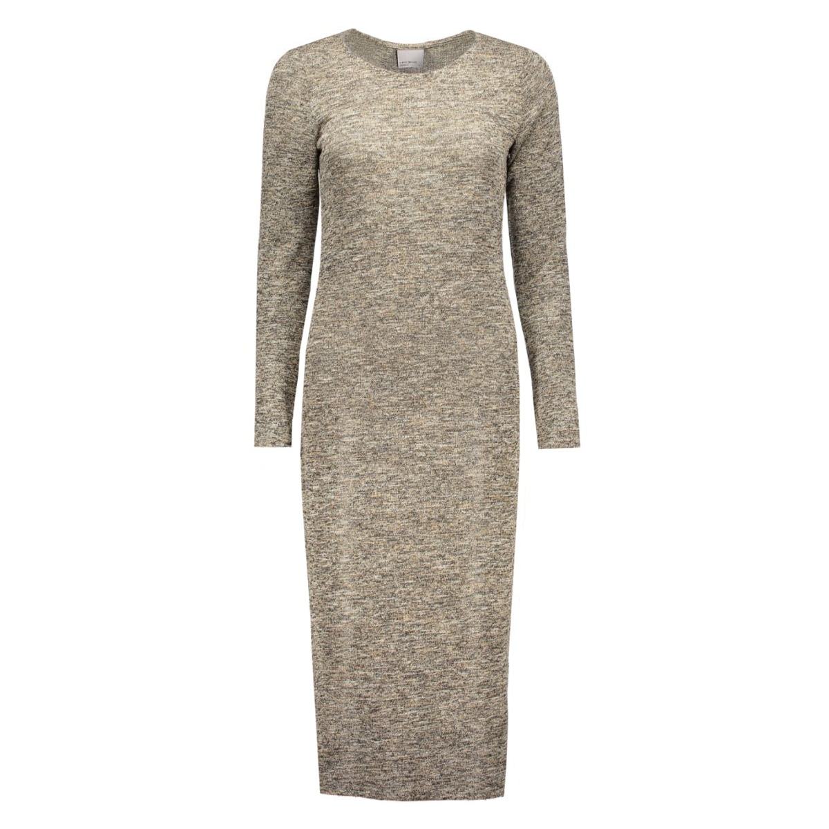 vmscotty ls long dress 10159461 vero moda jurk decadent chocol/comb