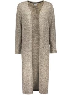 vmscotty ls long cardigan 10159463 vero moda vest decadent chocol/ comb