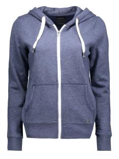 onlfinley ls zip hood noos 15121457 only vest night sky