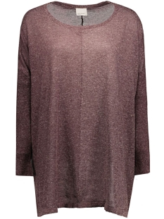 VMALTHA LS OVERSIZE BLOUSE REP 10162513 Decadent Chocolate