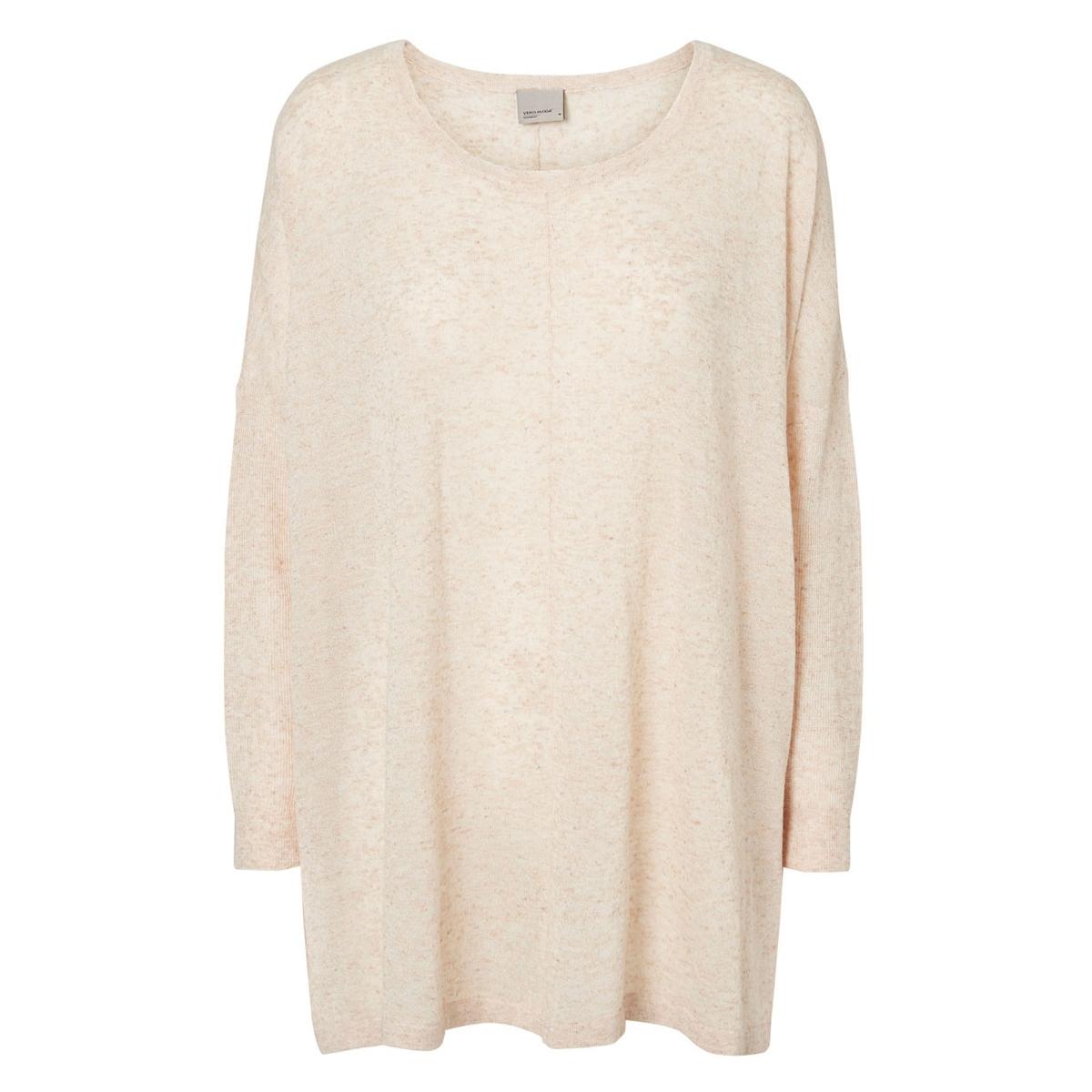 vmaltha ls oversize blouse rep 10162513 vero moda trui cream tan