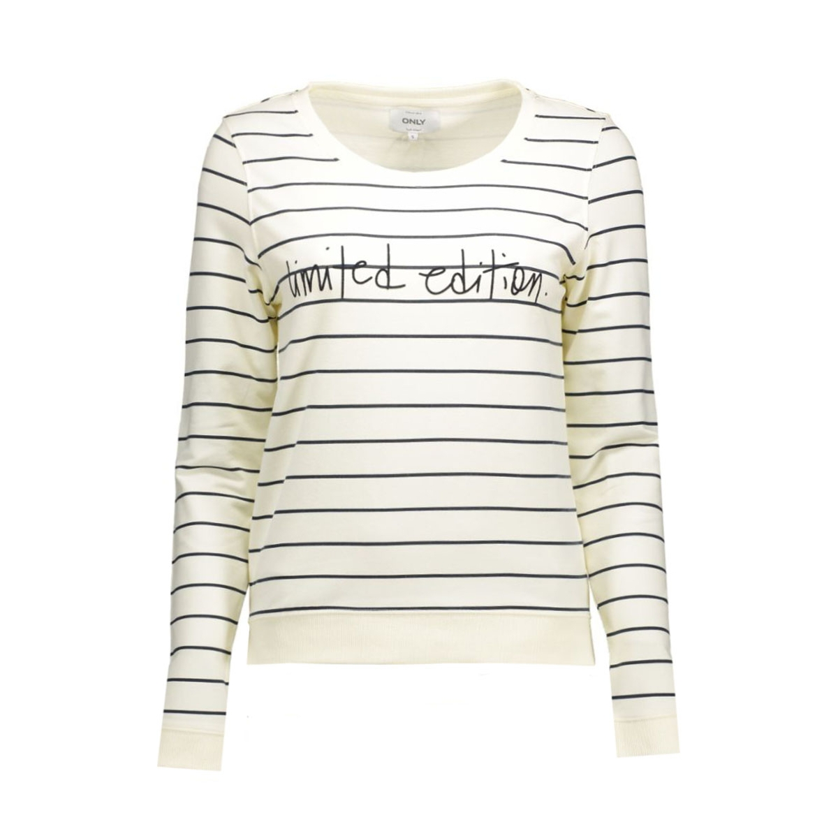 onlmicka l/s o-neck trend/later  bo 15123828 only sweater cloud dancer/ micki limi