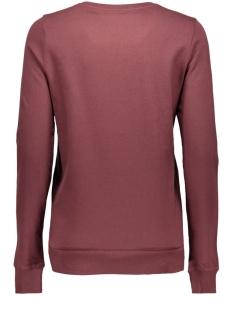 nmpana l/s sweat 16 -6 10162778 noisy may sweater decadent choco