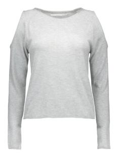 onlnew misty peak l/s pullover knt 15121620 only trui medium grey melange