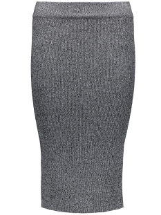 onlSACRAMENTO LONG PENCIL SKIRT KNT 15122503 Black/W.White