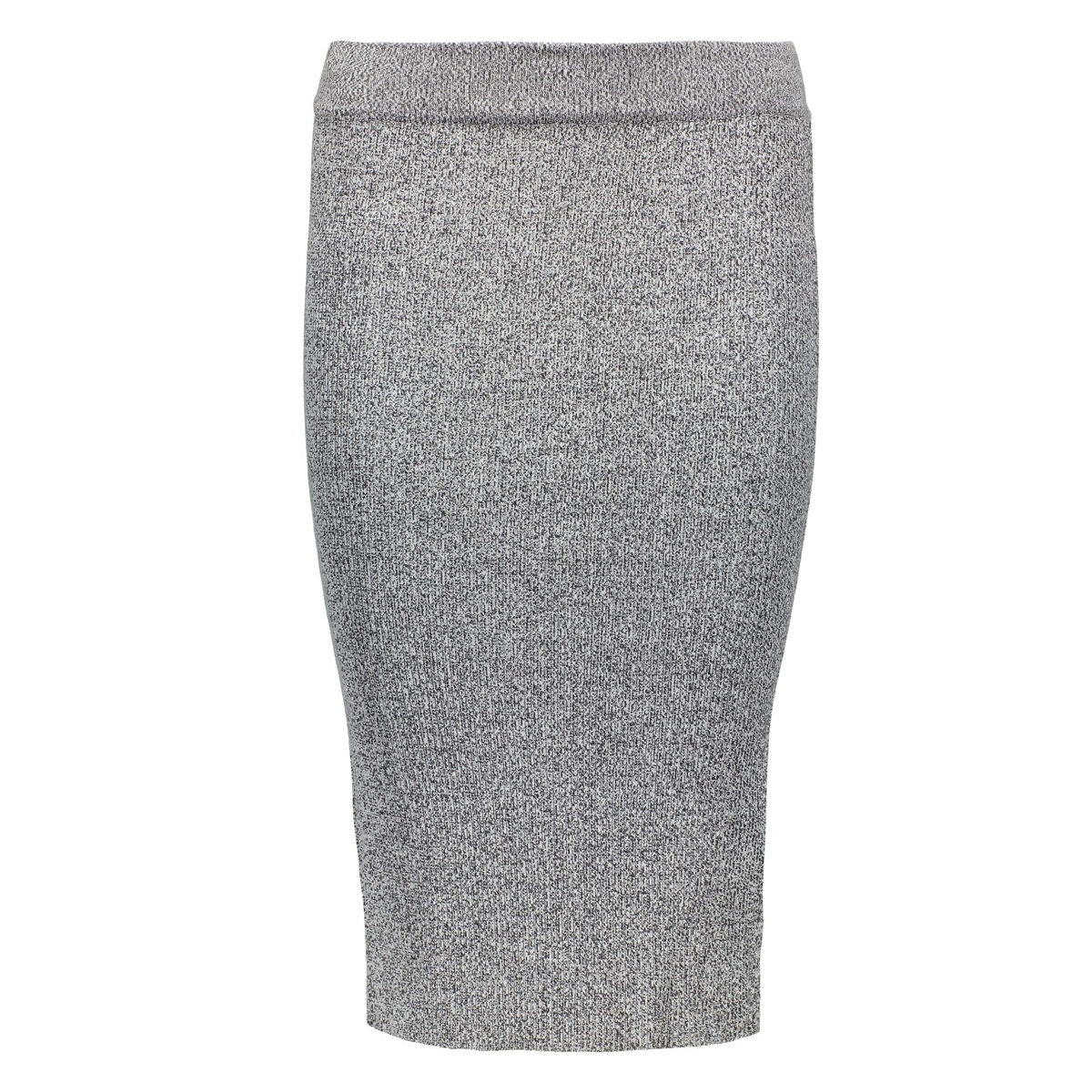 onlsacramento long pencil skirt knt 15122503 only rok dark grey melange