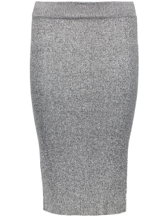 onlSACRAMENTO LONG PENCIL SKIRT KNT 15122503 Dark Grey Melange