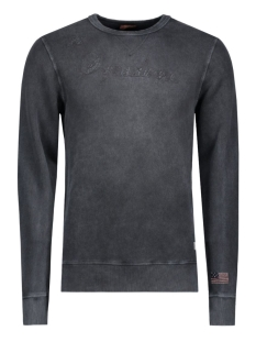 Jack & Jones Sweater JJVOWEN SWEAT CREW NECK AUW 12109215 Caviar