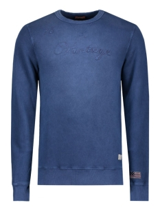 jjvowen sweat crew neck auw 12109215 jack & jones sweater total eclipse
