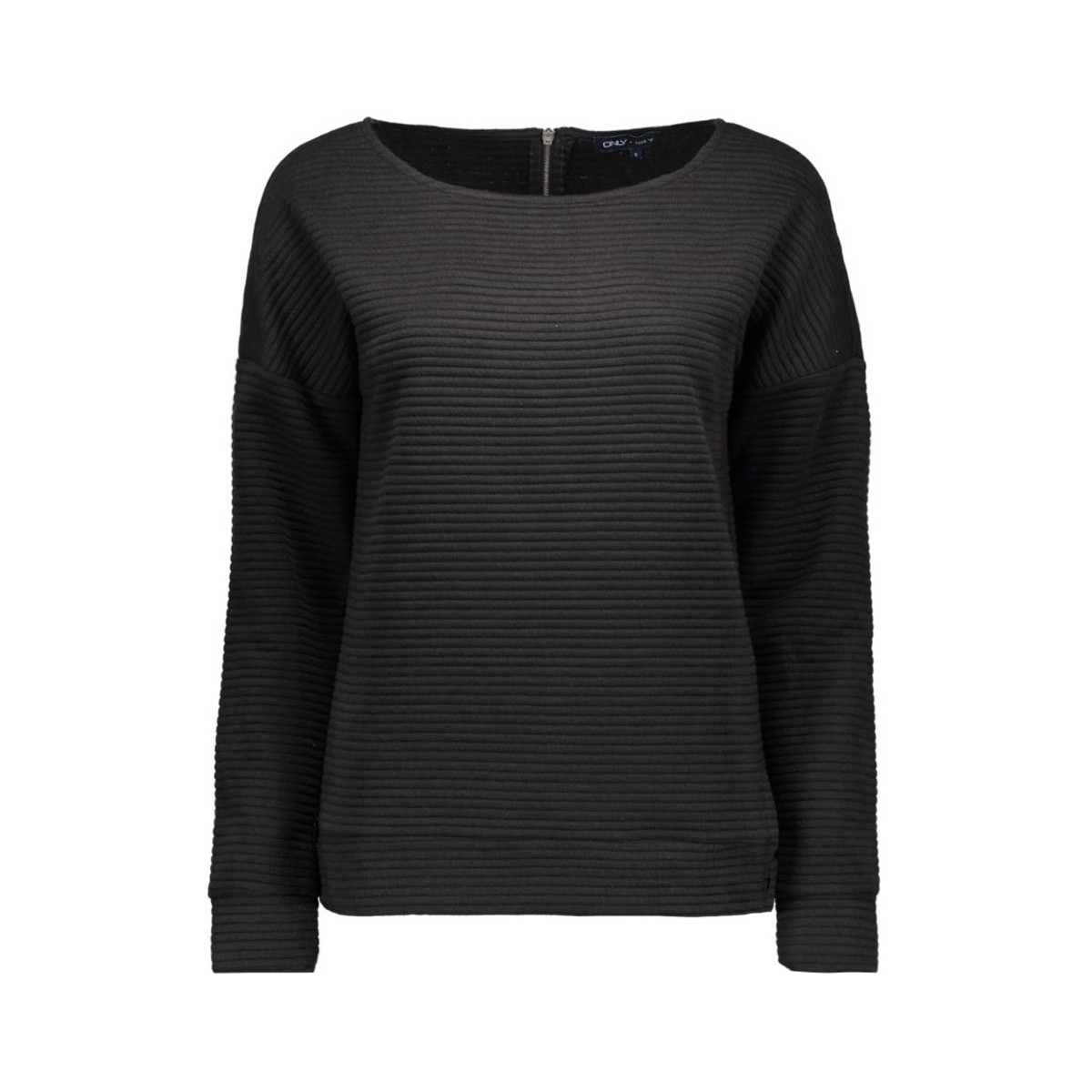 onlvivid l/s jacquard swt 15122322 only sweater black