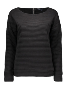 Only Sweater onlVIVID L/S JACQUARD SWT 15122322 Black