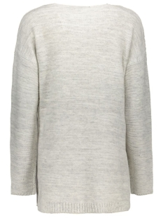 vicheckup l/s knit top 14036717 vila trui pristine