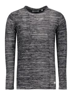 onssatre reverse crew neck knit noo 22003735 only & sons trui dark navy