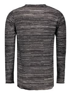 onssatre reverse crew neck knit noo 22003735 only & sons trui black