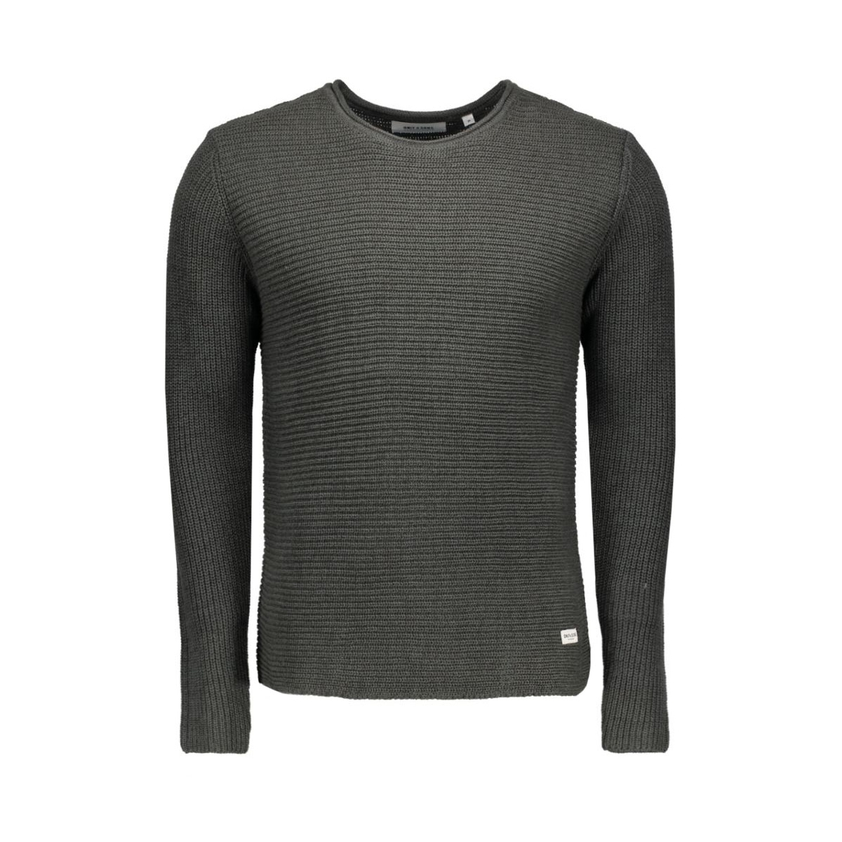 onssato twist knit noos 22004083 only & sons trui urban chic